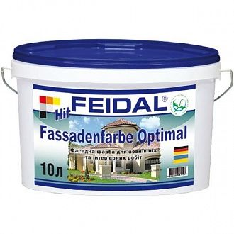Фарба Feidal Hit-Fassadenfarbe Optimal 1 л