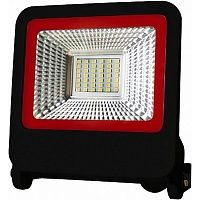 Прожектор Eurolamp 6500 K SMD 30 Вт IP65 черный LED-FL-30 (black)