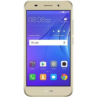 Смартфон Huawei Y3 2017 DS gold