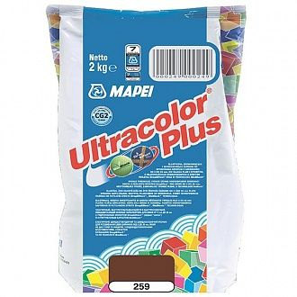 Затирка Mapei Ultracolor Plus 259 ореховая 2 кг