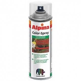 Аэрозоль Alpina Color-Spray черный 400 мл