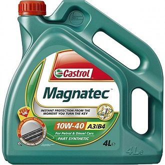 Мастило моторне Castrol Magnatec 10W-40 A3/B4 4 л