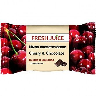 Мило Fresh Juice Cherry and Chocolate 75 г