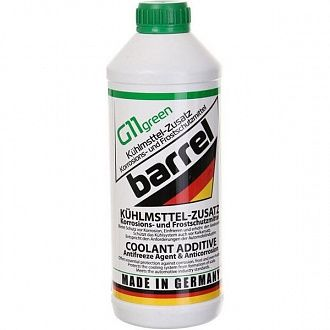 Антифриз Barrel Coolant Concentrate G11 -80° С зеленый 1.5 л