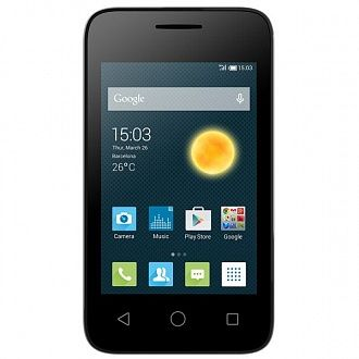 Смартфон Alcatel One Touch 4009D silver