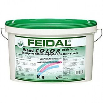 Краска Feidal Wand color UA 2.5 л