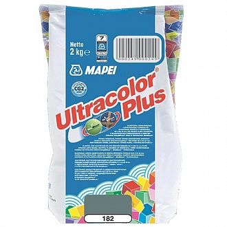 Затирка Mapei Ultracolor Plus 182 турмалиновая 2 кг