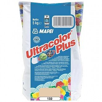 Затирка Mapei Ultracolor Plus 132 бежева 5 кг
