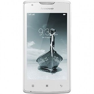 Смартфон Lenovo A1000 DS white