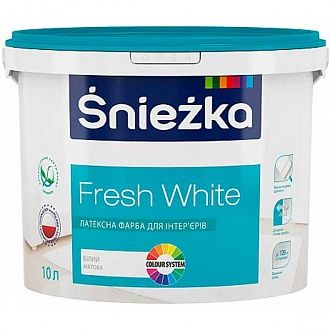 Краска Sniezka Fresh White 14 кг