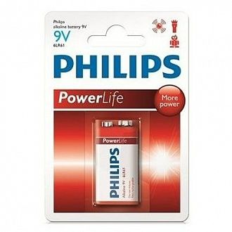 Батарейка Philips Powerlife 6LR61P1B 1 шт
