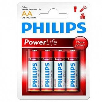 Батарейка Philips Powerlife LR6-P4B 4 шт