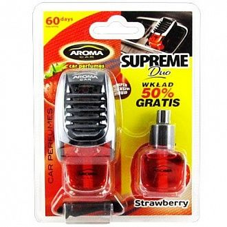 Ароматизатор Sapfire Aroma Car Supreme Duo Strawberry 922547 8 мл