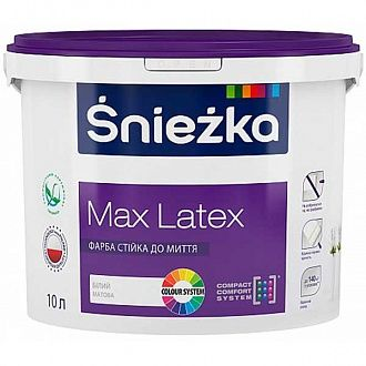 Краска Sniezka Max Latex 6.7 кг
