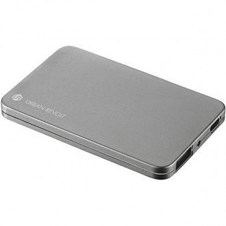 Зарядное устройство Trust Urban Revolt Power Bank 1800T silver