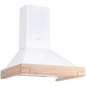 Вытяжка Pyramida KH wood white 60 см