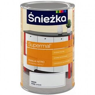 Эмаль Sniezka Supermal Nitro светло-серая N540 1 л