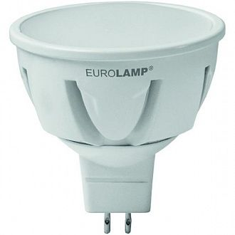 Лампа LED Eurolamp MR16 3 W GU5.3 3000K теплый свет