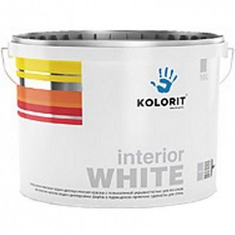 Краска Kolorit Interior White 5 л