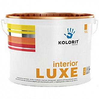 Фарба Kolorit Interior Luxe С 10 л